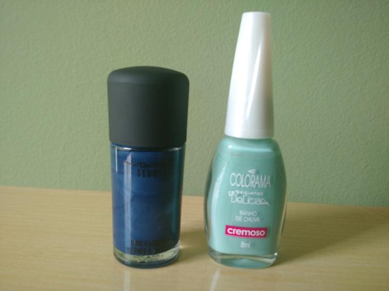 MAC - Midnight Ocean + Colorama - Banho de Chuva